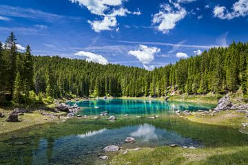 Karersee - Dolomite - Italien von Bart Hendrix