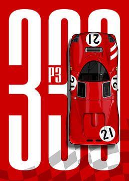 Ferrari 330 P3 Top Tribute von Theodor Decker