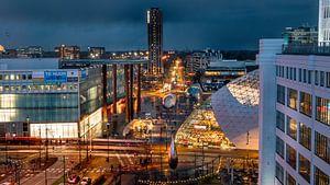 Eindhoven Stad bij nacht van Maarten Cornelis