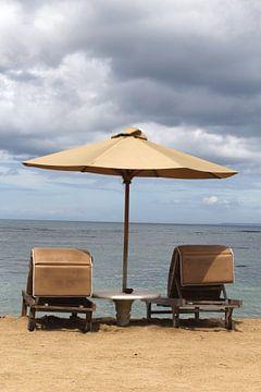 Vintage Strand atmosphäre, Bali von