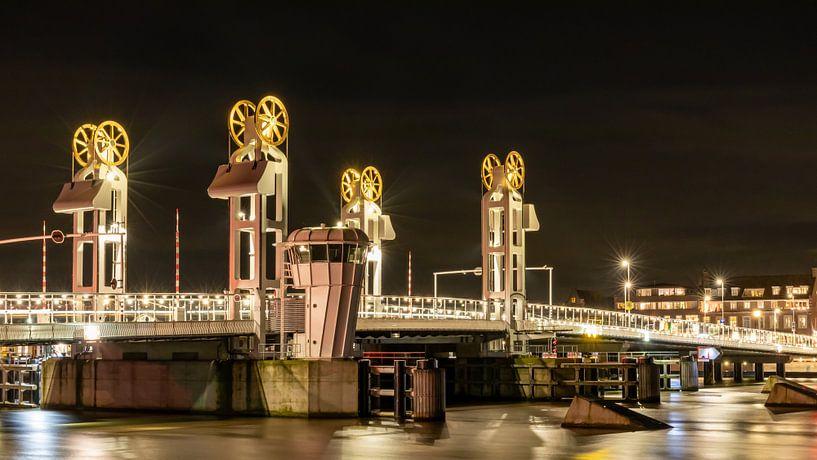 Stadtbrücke Kampen von Anjo ten Kate