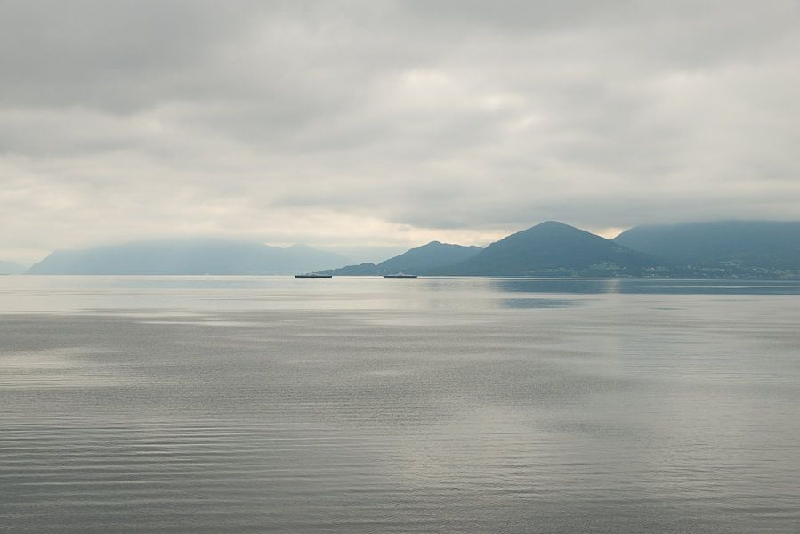 minimalisme op zee in Noorwegen van Renate Oskam
