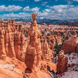 Fantastische vormen in Bryce Canyon, Utah van Rietje Bulthuis