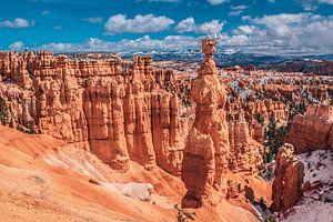 Fantastische vormen in Bryce Canyon, Utah