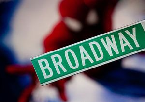 Spiderman op Broadway