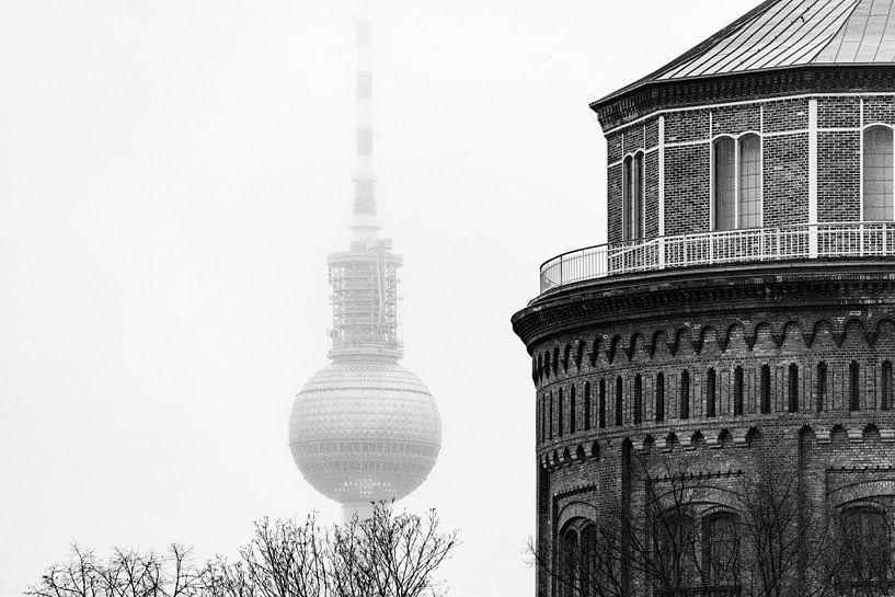 Berlijn in de mist van Ton de Koning