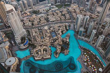 Downtown vanaf Burj Khalifa