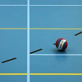 stil in de sporthal van Yvonne Blokland