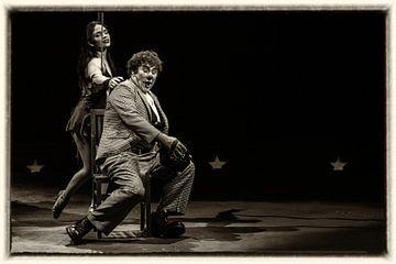 Clown in Carre-David-Laribble von Danny van Kolck