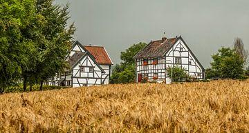 Vakwerkhuisjes in Zuid- Limburg van
