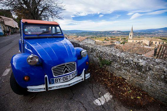 2CV in de Provence in Frankrijk