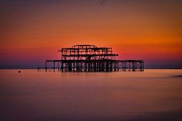West-Pier, Brighton von Mike Peek