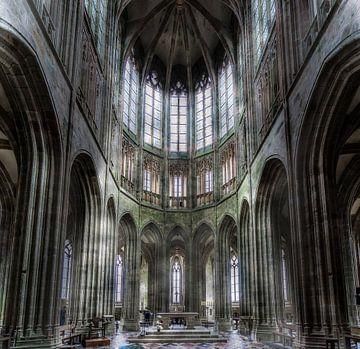 Abbaye Mont Saint-Michel  van Mario Calma