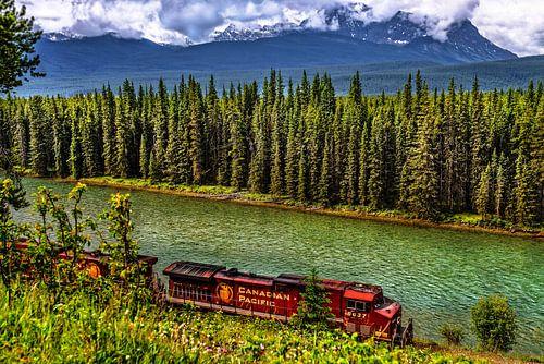 Canadian Pacific loc 8637 ........ van