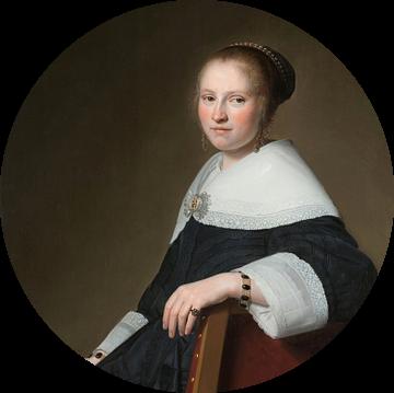 Portret van Maria van Strijp, Johannes Cornelisz. Verspronck