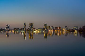 Almere Skyline 1 van Bart Hendrix