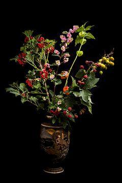 Herbstliches Bouquet im Topf von Atelier Liesjes