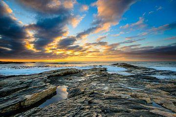Sonnenuntergang in Namibia von Denis Feiner
