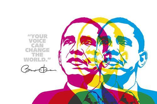 Barack Obama Quote van Harry Hadders