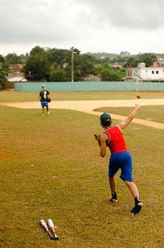 Cuban Baseball van Olivier Van Acker