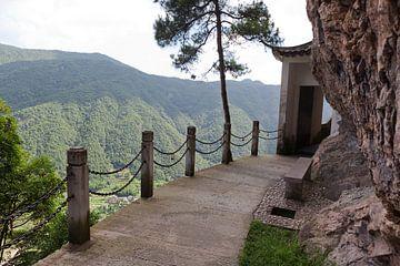 Yandang mountains bij Wenzhou, China. van Alida Stuut