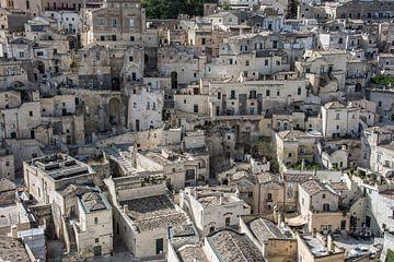 Sassi di Matera, Italie sur Yvonne van der Meij