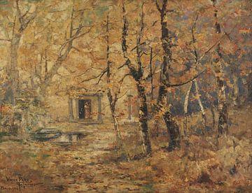 Antônio Parreiras~Oud-Park in Paris