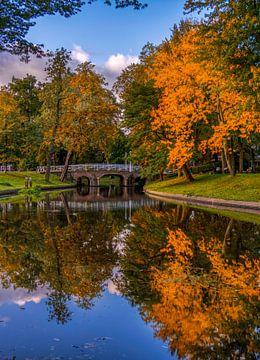 Maliesingel in de herfst