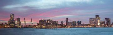 Panorama Kop van Zuid, Rotterdam  van