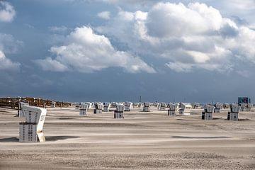 Flugsand am Strand van Annett Mirsberger