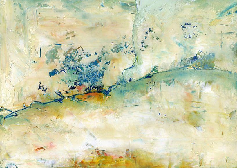 Weiße Texturen 2 von Maria Kitano