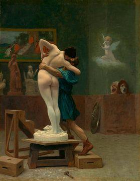 Pygmalion et Galatée, Jean-Léon Gérôme