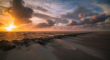 Zonsondergang op Texel von René Sluimer