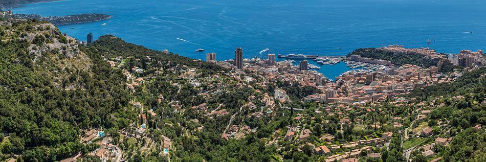 Idyllic Monaco   Panoramic van Melanie Viola