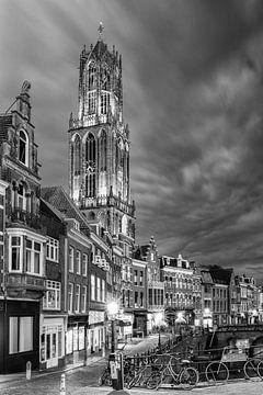 Utrecht - Vismarkt ZwartWit 01 sur Thomas van Galen