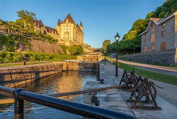 Ottowa, Canada, Rideau Canal van Maarten Hoek