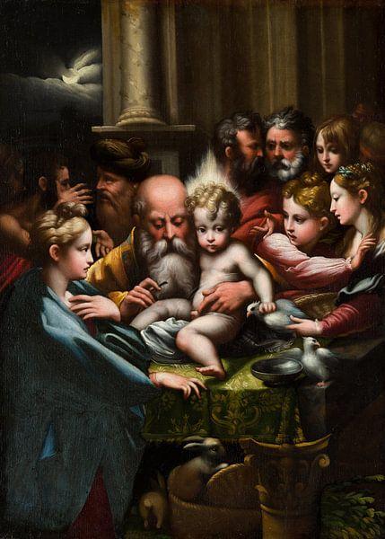De besnijdenis, Parmigianino von Meesterlijcke Meesters