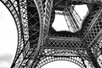 Parijs Eiffeltoren in detail 2 von Cynthia van Diggele