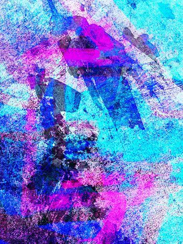 Modern, Abstract kunstwerk - I Dreamed I Found The Shoreline (Links) van Art  By Dominic