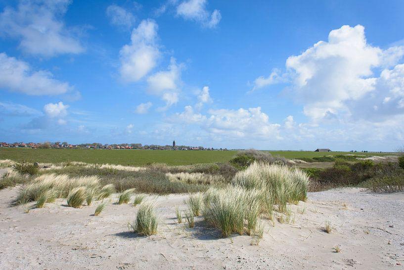 De duinen bij Hollum van Marjan Noteboom