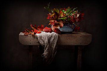 stilleven herfst...stillife autumn van Els Fonteine