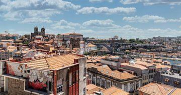 Dächer von Porto I von Eddie Meijer