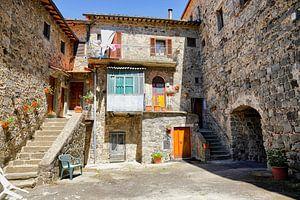 Binnenplaats Abbadia San Salvatore