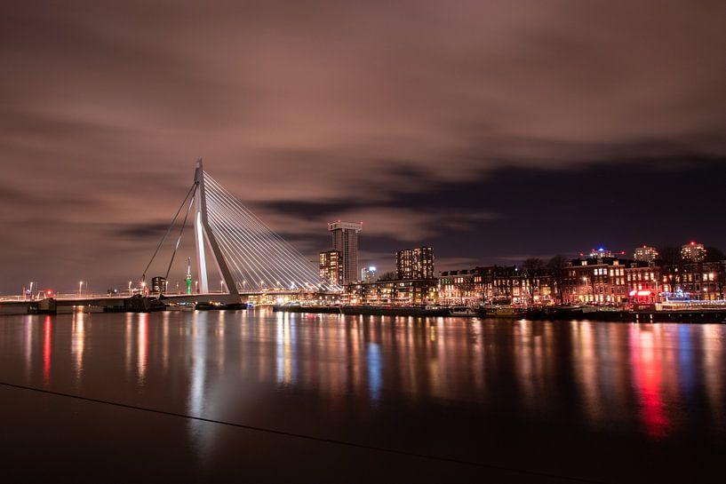Rotterdam Skyline van Dirk Sander