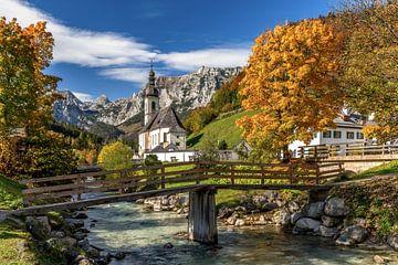 Herfst in de Berchtesgadense Alpen van Achim Thomae