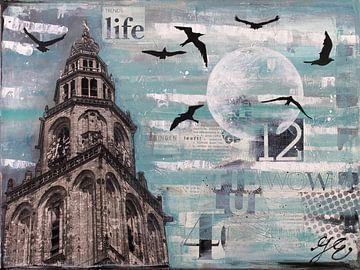 Groningen und Vögel von Janet Edens