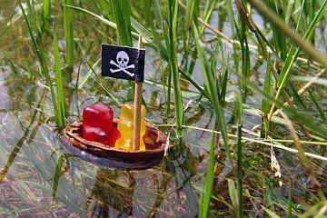 De gummiberen - Piraten van Ingo Laue