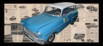 Opel Olympia Rekord Caravan von aRi F. Huber