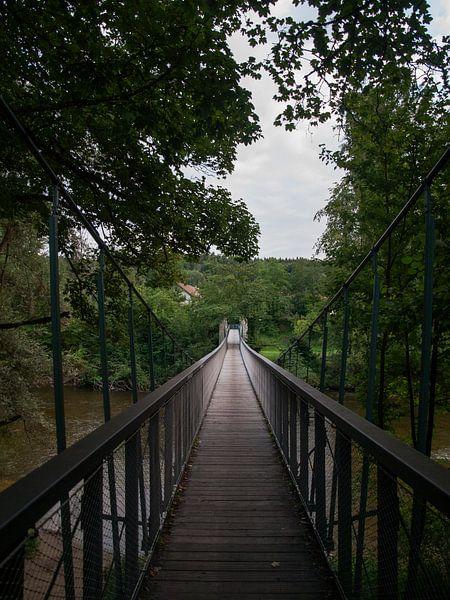 Hangbrug over de Argen van Rinke Velds