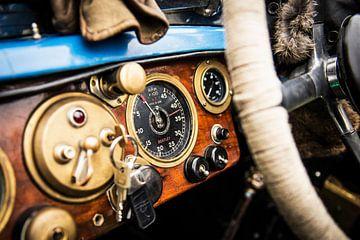 Bentley Bluebell 1929 van Rene Jacobs
